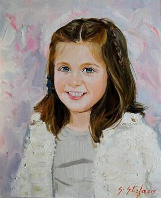 Painting - Berna Bukuroshja E Dibres by Sefedin Stafa