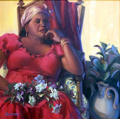 Painting - Bernadette by Diane Reeves