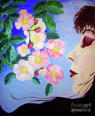 Painting - Bernadette by Lisa Rose Musselwhite