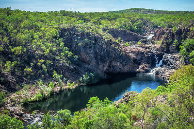 Photograph - Bernang Lookout At Edith Falls, Katherine, Australia. by Daniela Constantinescu