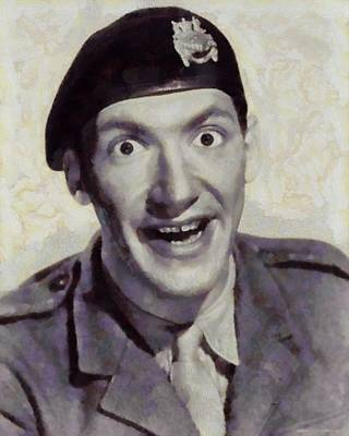 Bernard Bresslaw, Carry On Actor Print by Sarah Kirk