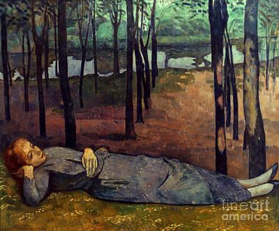 Photograph - Bernard: Madeleine, 1888 by Granger