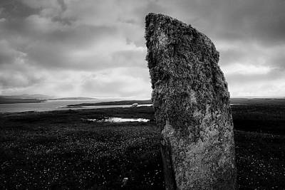 Berneray Photograph - Berneray Sentinel by Jane Selverstone