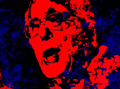 George Bush Mixed Media - Bernie 16 by Brian Reaves