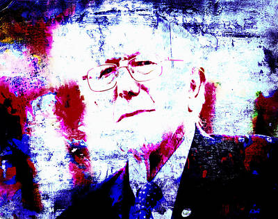 George Bush Mixed Media - Bernie  by Brian Reaves