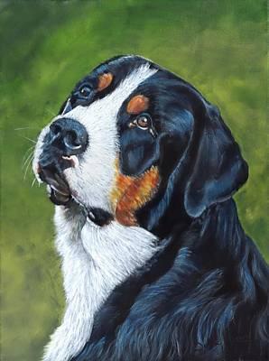 Painting - Bernie by John Neeve