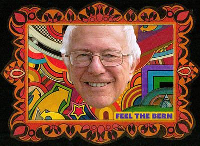 Mixed Media - Bernie by Rob Yamabushi