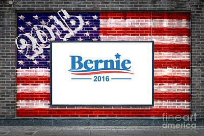 Bernie Sanders For President Art Print by Antony McAulay