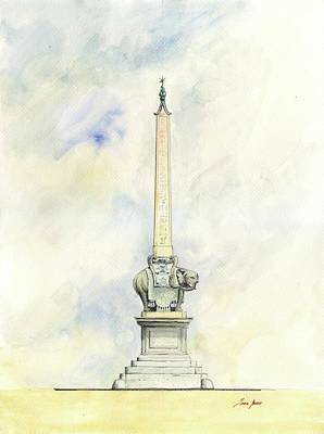 Bernini Elephant With Obelisk Original