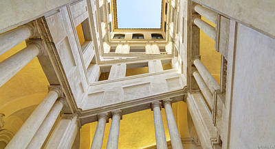 Photograph - Bernini Staircase by Weston Westmoreland