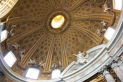 Bernini Vault Art Print