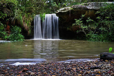 Photograph - Berowra Waterfall by Werner Padarin