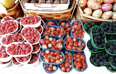 Photograph - Berries And More - Venice Italy by Merton Allen