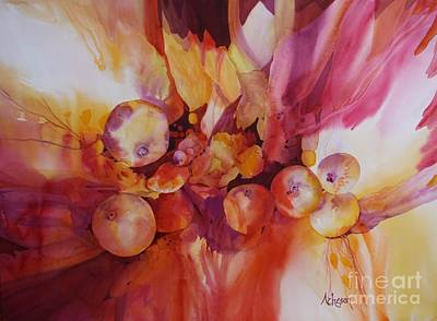 Painting - Berries Beautiful by Donna Acheson-Juillet