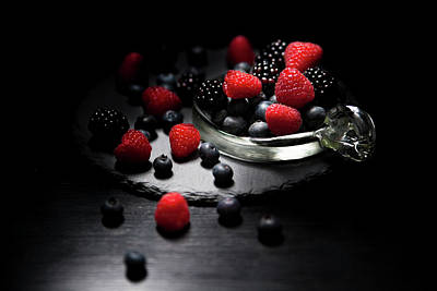 Photograph - Berries by Christine Sponchia