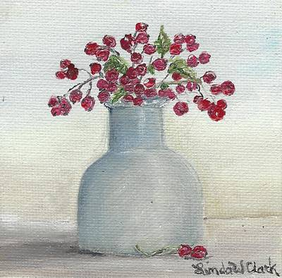 Painting - Berries by Linda Clark