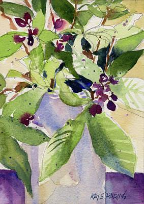 Painting - Berry Bouquet by Kris Parins