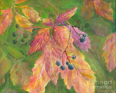 Painting - Berry Challenge by Denise Hoag