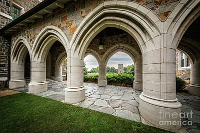 Berry College Photograph - Berry College Arches by Doug Sturgess