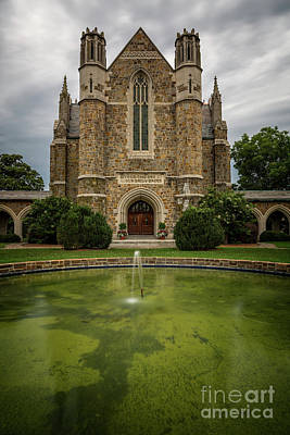Berry College Photograph - Berry College Chapel by Doug Sturgess