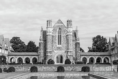 Berry College Photograph - Berry College Ford Dining Hall by University Icons