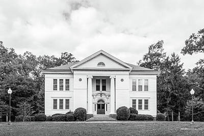 Berry College Photograph - Berry College Hoge Building by University Icons