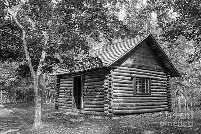 Log Cabins Photograph - Berry College Martha Berry Cabin by University Icons