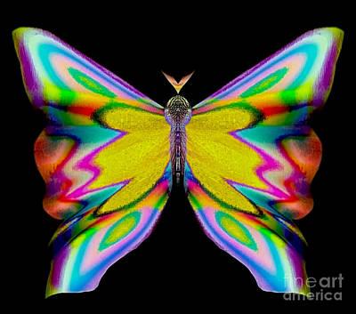 Blue Healer Digital Art - Berry Flirtybriar by Raymel Garcia