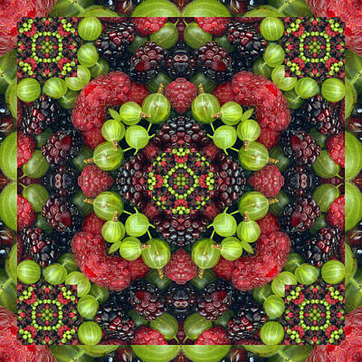 Spiritual. Geometric Photograph - Berry Good by Bell And Todd