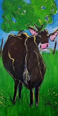 Painting - Bertha by Terri Einer