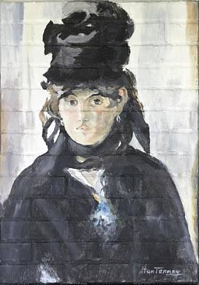 Painting - Berthe Morisot by Stan Tenney