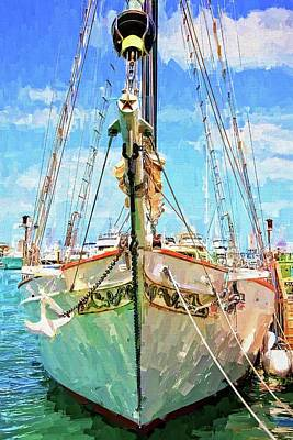 Photograph - Berthed In Key West by Alice Gipson