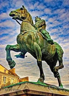 Fantasy Royalty-Free and Rights-Managed Images - Bertrand du Guesclin by Elf EVANS
