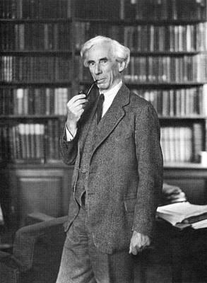 Photograph - Bertrand Russell by Granger