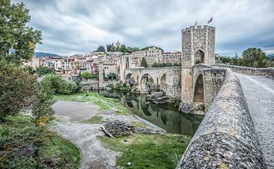 Girona Photograph - Besalu A Medieval Village, Catalonia by Marc Garrido
