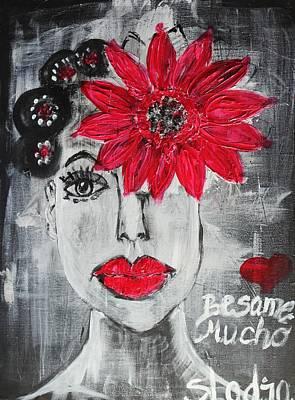 Besame Mucho Art Print by Sladjana Lazarevic
