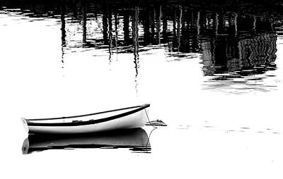 Photograph - Beside A Dock In Maine by Carolyn Derstine
