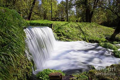 Photograph - Beside Hodgson Spring Falls by Jennifer White