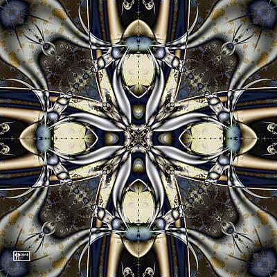 Digital Art - Beside Itself by Jim Pavelle