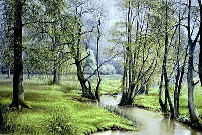 Painting - Beside Still Waters by Rosemary Colyer