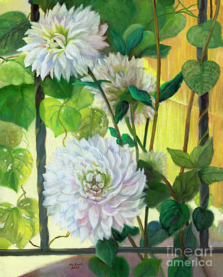 Painting - Beside The Garden Gate by Marlene Book