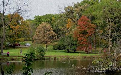 Photograph - Beside The Lake by Kathie Chicoine