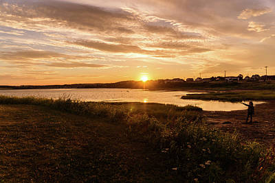 Photograph - Besides North Rustico Harbor by Chris Bordeleau