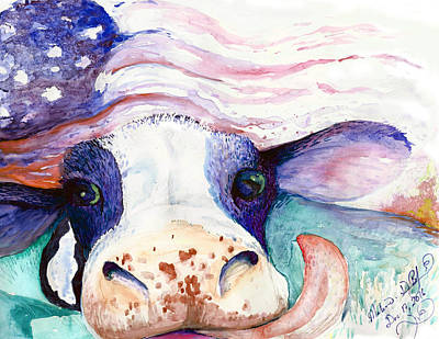 Bessie Art Print by Melinda Dare Benfield