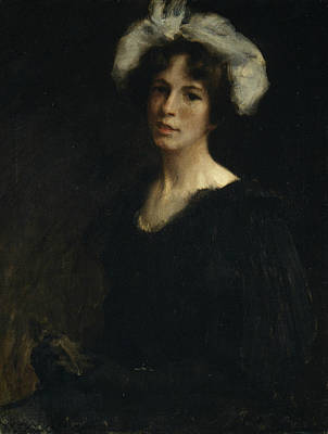 Painting - Bessie Potter by William Merritt Chase