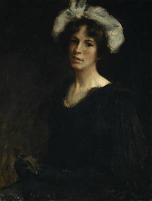 Painting - Bessie Potter by William Merritt Chase