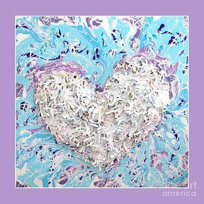 Photograph - Besso Heart Confetti by Marlene Rose Besso