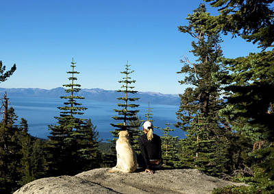 Photograph - Best Buddies At Lake Tahoe by Waterdancer