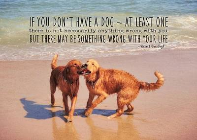 Best Buds Quote Art Print by JAMART Photography