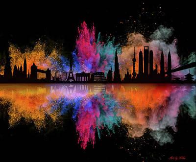 Photograph - Best City by Lilia D